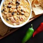 Easy Crockpot Chicken Taco Dip