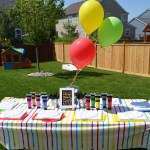 Curious George Painting Party