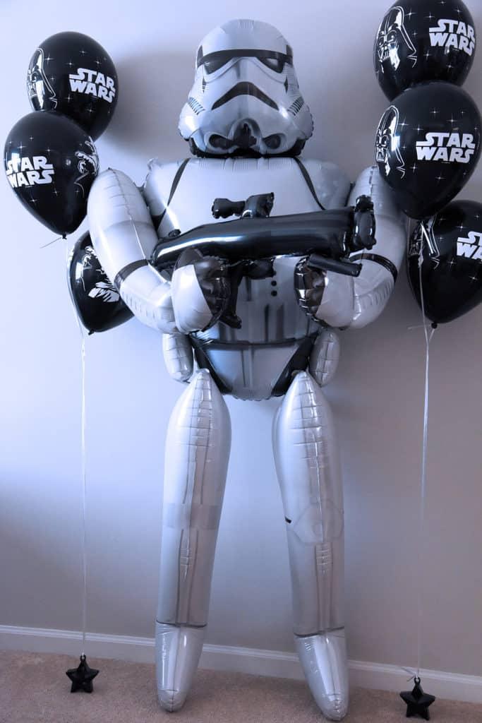 Star Wars Storm Trooper Balloon