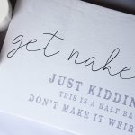 GET NAKED HALF BATH CANVAS