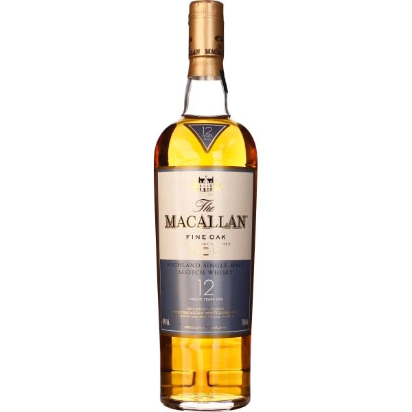 The Macallan 12 years Fine Oak 70CL