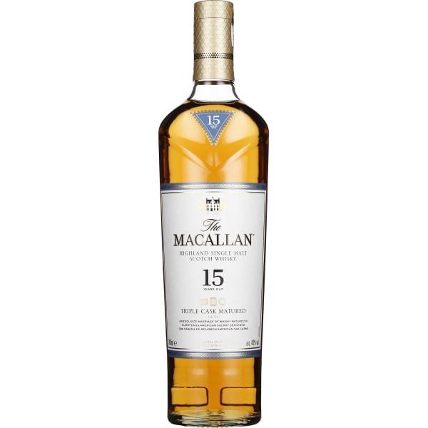 The Macallan 15 years Triple Cask 70CL