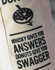 Single malt Tote Bag - WD-012 - Whisky and Donuts - WhiskyAndDonuts.com