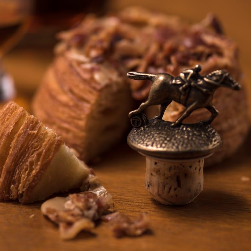 Blantons Single Barrel | Maple Bacon Cronut - Whisky And Donuts - WhiskyAndDonuts.com