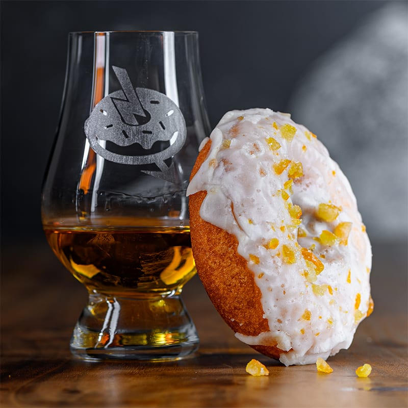 Whistle Pig Piggy Back | Mimosa - Whisky And Donuts - WhiskyAndDonuts.com