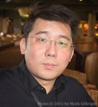 Ian Chang, Master Blender for King Car Distillery in Taiwan. Photo by Mark Gillespie ©, 2011.