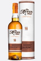 The Arran 16 Year Old Single Malt.