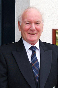 Gordon Mitchell, founding Master Distiller at Arran Distillery.