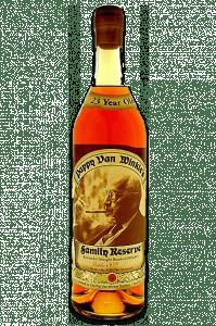 Pappy Van Winkle's Family Reserve 23-Year-Old Bourbon. Image courtesy Old Rip Van Winkle Distillery.