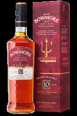 Bowmore Devil's Casks Single Malt Scotch Whisky. Image courtesy Morrison Bowmore Distillers.