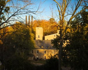 The Woodford Reserve Distillery in Versailles, Kentucky. Image ©2011 by Mark Gillespie.
