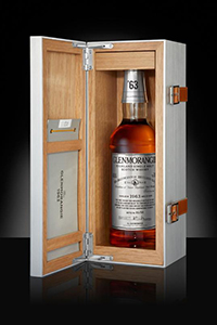 The Glenmorangie 1963 Extra Matured Scotch Whisky. Image courtesy Glenmorangie.