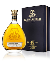 Glenglassaugh 40-Year-Old Single Malt Scotch. Image courtesy Glenglassaugh Distillery.
