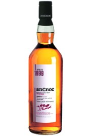 anCnoc 1999 Vintage Single Malt Scotch Whisky. Image courtesy anCnoc.