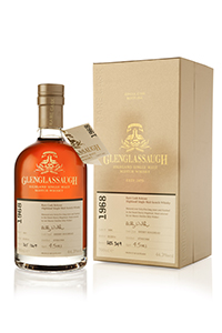 The Glenglassaugh 1968 Single Cask. Image courtesy Glenglassaugh Distillery.