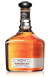 Jack Daniel's Rested Tennessee Rye Whiskey. Image courtesy Jack Daniel's.