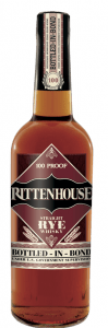 Rittenhouse Rye 100 Proof. Image courtesy Heaven Hill.