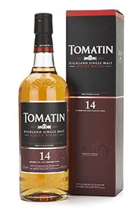 Tomatin 14 Year Old Highland Single Malt. Image courtesy Tomatin.
