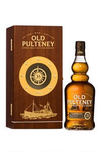 Old Pulteney 35 Year Old. Image courtesy Old Pulteney.