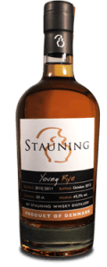 Stauning Young Rye. Image courtesy Stauning Whisky A/S.