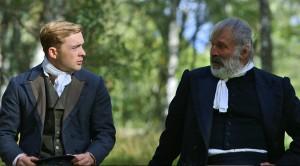 "Aaron Urquhart Stewart and Allan Thornton in ""Peat Reek"". Movie still courtesy Mike Dziennik."