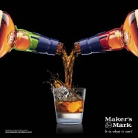 A Maker's Mark ad featured on Twitter February 1, 2015. Image courtesy Maker's Mark.