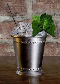 Wild Turkey's Mint Julep. Image courtesy Wild Turkey.