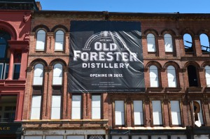 The facade of the Old Forester Distillery to be built on Main Street in Louisville. Courtesy of Brown-Forman. Photo by Jacob Zimmer