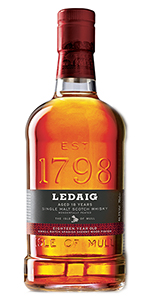 Ledaig 18. Photo courtesy Burn Stewart Distillers.