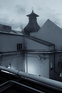 A behind-the-scenes view of Craigellachie Distillery in Scotland. Photo ©2014 by Mark Gillespie.