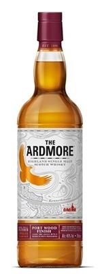 Ardmore Port Wood Finish Scotch Whisky. Image courtesy Beam Suntory.