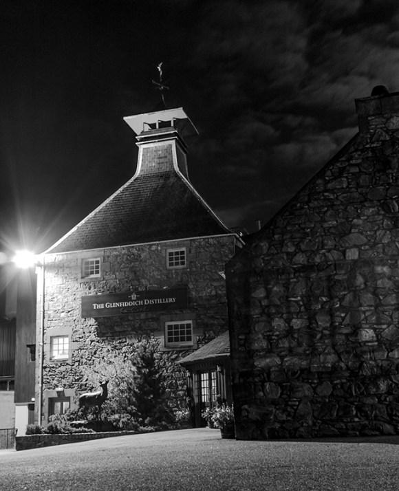 The Glenfiddich Distillery in Dufftown, Scotland. Photo ©2015 by Mark Gillespie.