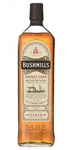 Bushmills Steamship Collection Sherry Cask Reserve. Image courtesy Bushmills.