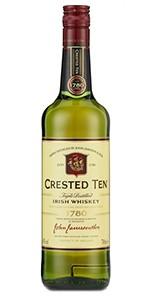Crested Ten Irish Whiskey. Image courtesy Irish Distillers.