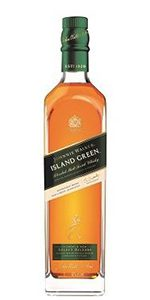 Johnnie Walker Island Green Blended Malt Scotch Whisky. Image courtesy Diageo.