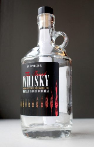 """Wood Buffalo Brewing's """"The Beast"""" whisky. Image courtesy Wood Buffalo Brewing Company."""