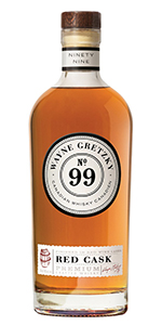 Wayne Gretzky No. 99 Red Cask. Image courtesy Wayne Gretzky Estates.
