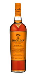 The Macallan Edition No. 2. Image courtesy Edrington/The Macallan.