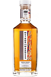 Method and Madness Single Grain Irish Whiskey. Image courtesy Irish Distillers Pernod Ricard.