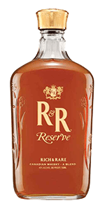 Rich & Rare Reserve Canadian Whisky. Image courtesy Sazerac.