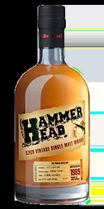 Hammer Head Czech Single Malt. Image courtesy Stock Spirits.