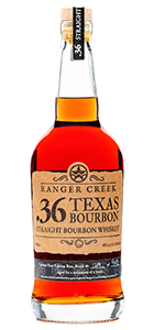 Ranger Creek .36 Texas Straight Bourbon. Image courtesy Ranger Creek Brewing & Distilling.