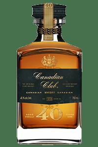 Canadian Club Aged 40 Years. Image courtesy Canadian Club/Beam Suntory.