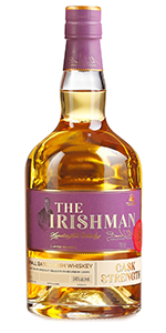 The Irishman Cask Strength 2017. Image courtesy Walsh Whiskey Company.
