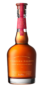 Woodford Reserve Master's Collection Cherry Wood Smoked Barley Bourbon. Image courtesy Woodford Reserve.