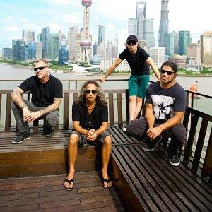 The members of Metallica. Photo courtesy Metallica.com.