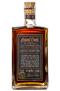 Blood Oath Pact No. 4 Bourbon. Image courtesy Lux Row Distillers/Luxco.