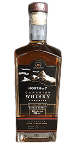 North of 7 Rye Whisky. Image courtesy North of 7 Distillery.