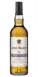 The John Milroy Selection Glen Garioch 24 Years Old. Image courtesy Spirit Imports.