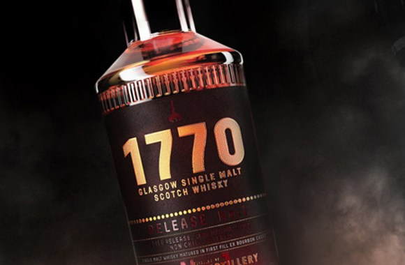 The Glasgow Whisky Company's 1770 Single Malt to be released later this year. Image courtesy The Glasgow Distillery Company.